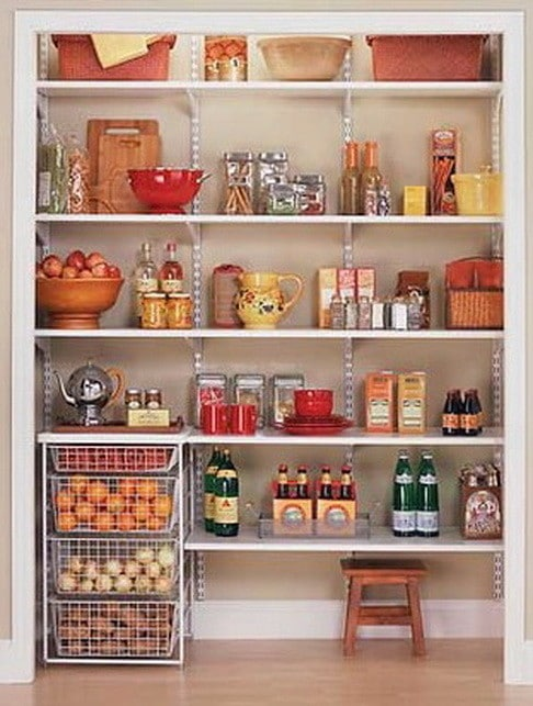 Kitchen pantry organization ideas 16 for Organization ideas for kitchen pantry