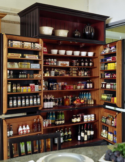 kitchen pantry organization ideas_19