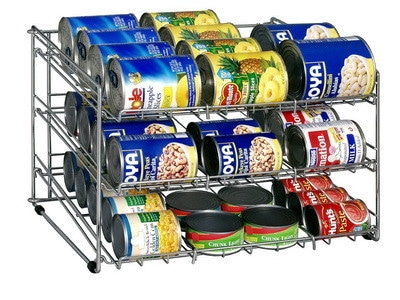 kitchen soup can organizer