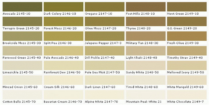 paint sample colors chart_1