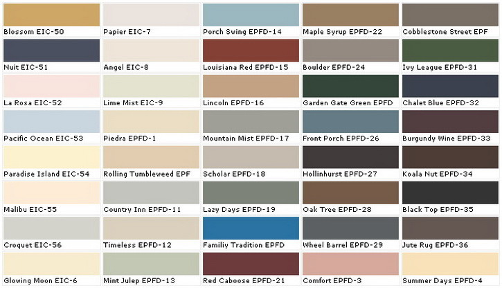 below are some paint sample color charts to help you choose a color. Black Bedroom Furniture Sets. Home Design Ideas
