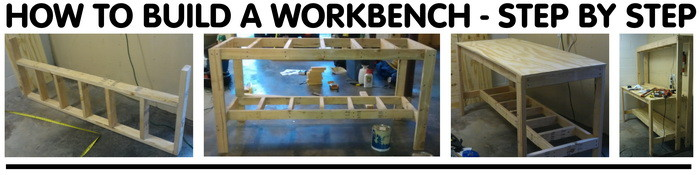 How To Build A Workbench For Your Garage To Get Organized