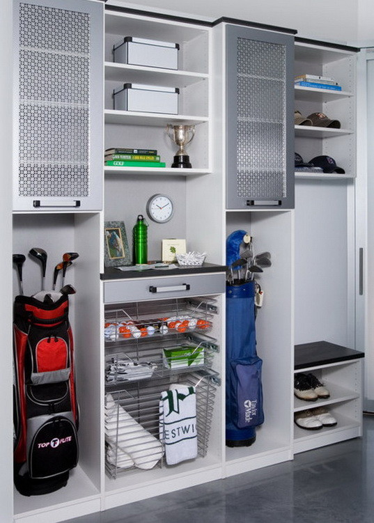 https www.containerstore.com tip roomgarage garage-shelving-ideas - 21 Garage Organization And DIY Storage Ideas Hints And