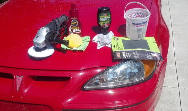 How To Fix and Repair Cloudy Headlights_7
