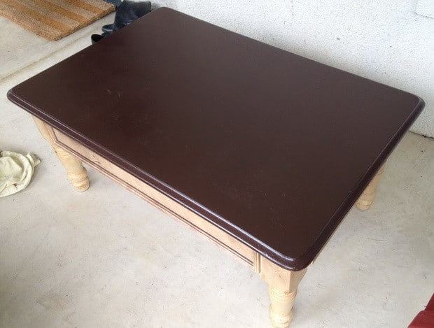 Magnificent How To Make A Penny Top Coffee Table Diy Alphanode Cool Chair Designs And Ideas Alphanodeonline