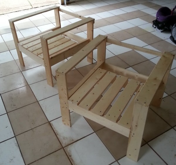 patio chairs 2how to build a simple diy outdoor patio lounge chair