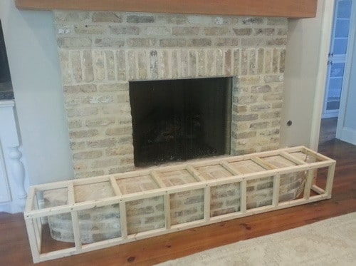 If you have a small child running around then you already know a fireplace can be a safety hazard. Not the actual fire itself but the surrounding area made of brick (fireplace hearth) that juts out a few feet. We