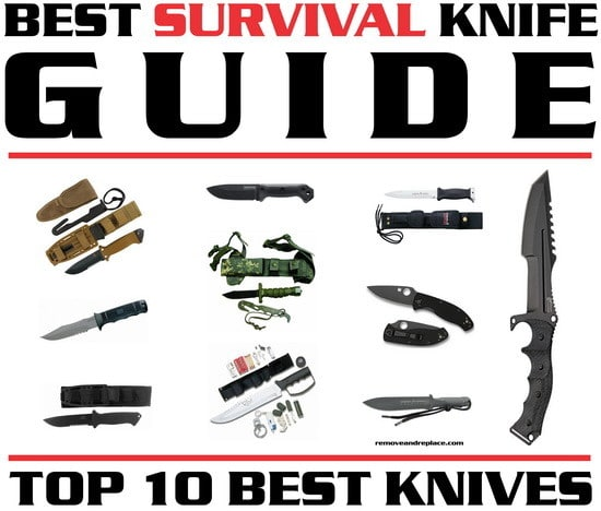 10 best survival knives