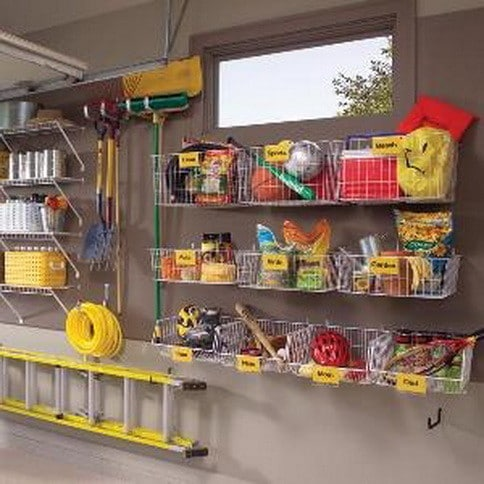 37 ideas for a clutter free organized garage storage for Garage basics