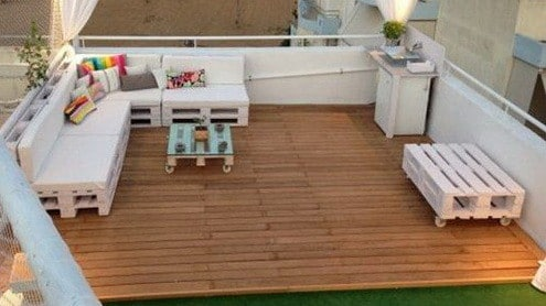 46 Genius Pallet Building Ideas_35