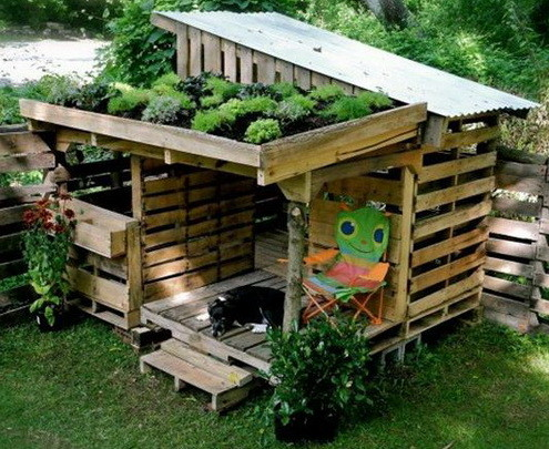 pallet buildings. 46 genius pallet building ideas_37 buildings