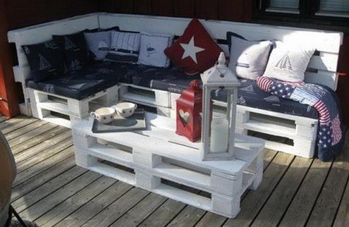 46 Genius Pallet Building Ideas_41
