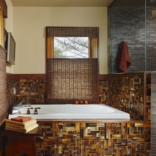 50 amazing bathroom bathtub ideas for Bathroom ideas earth tones