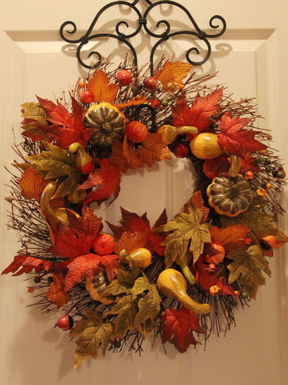 fall wreath craft ideas 52 fall wreath ideas simple yet creative wreaths 4429