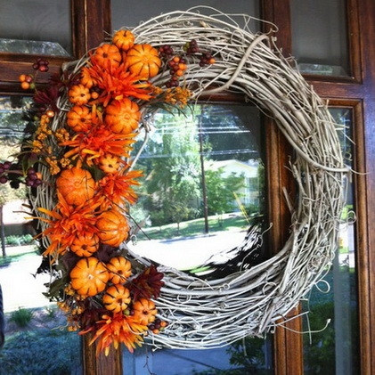 52 Fall Wreath Ideas_13