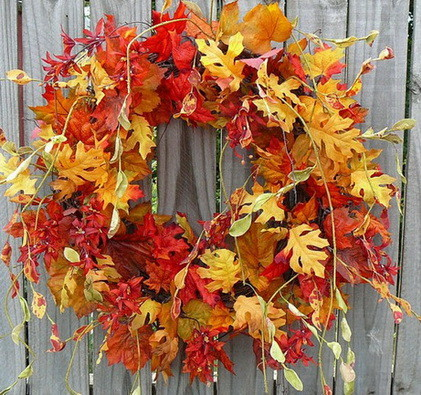 52 Fall Wreath Ideas_16