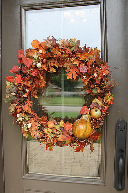 52 Fall Wreath Ideas Simple Yet Creative Wreaths