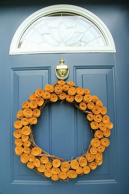 52 Fall Wreath Ideas_27