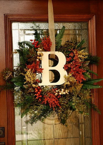52 Fall Wreath Ideas_32