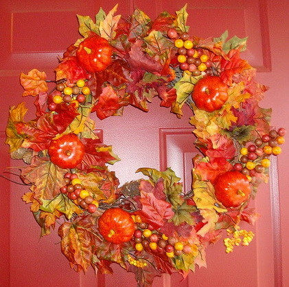 52 Fall Wreath Ideas_37