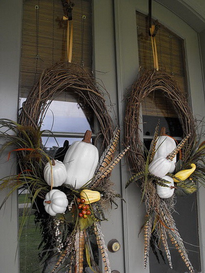 52 Fall Wreath Ideas_42