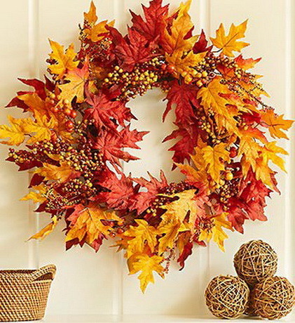 52 Fall Wreath Ideas_47