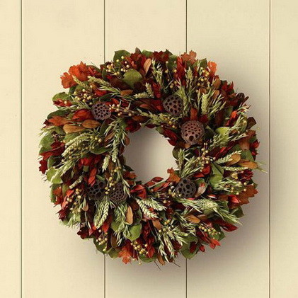 52 Fall Wreath Ideas_48