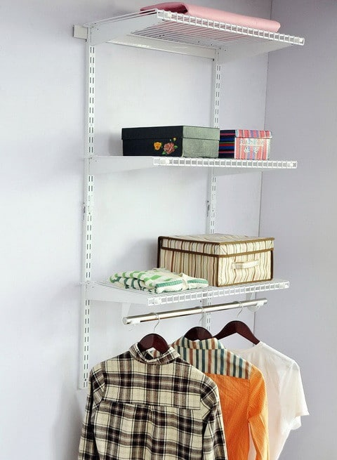 Adjustable Custom Wire Closet Organizer