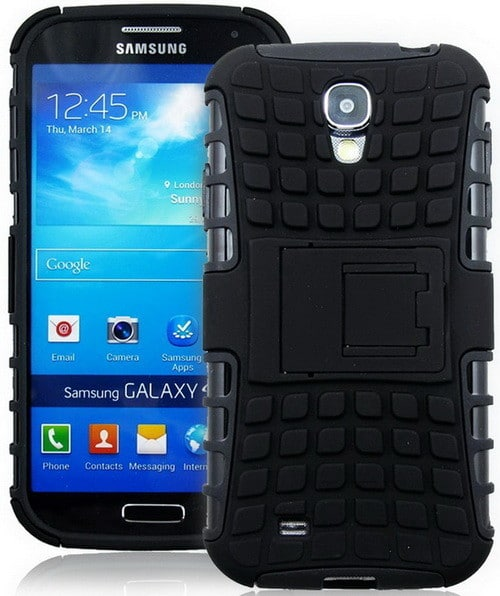 Best Samsung S4 Case Diablo Series Tough Rugged Dual Layer Protection Cover With Build