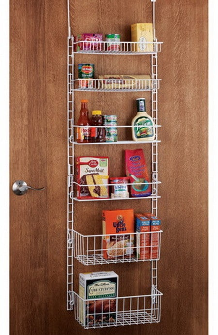 kitchen pantry door storage racks kitchen organization amp storage ideas 28 organizing 8379