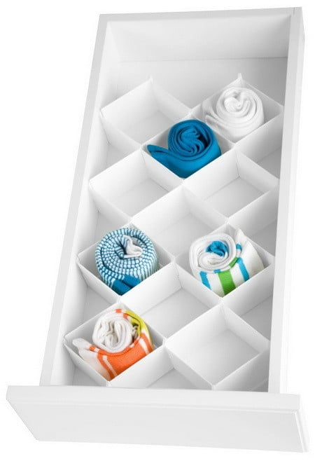 Drawer Organizer 32 Compartments