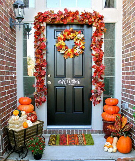 17 Great Small Porch Design Ideas: 33 Front Porch Decorating Ideas For Fall