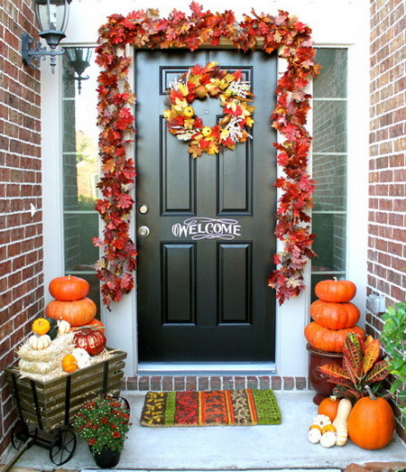 Front Porch Decorating Ideas For Fall_24