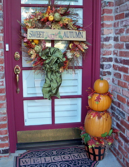 Front Porch Decorating Ideas For Fall_26