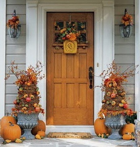 33 front porch decorating ideas for fall Small front porch decorating ideas for fall