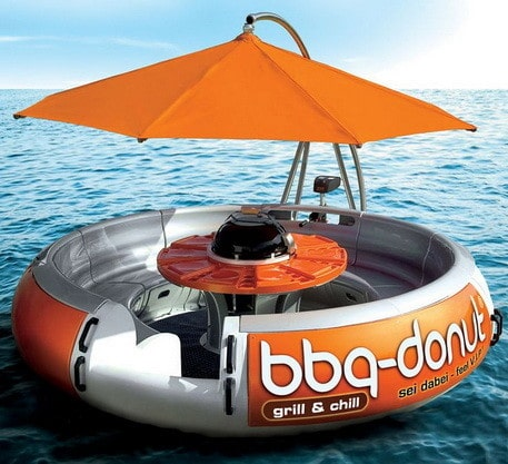 Grill and chill with the BBQ donut