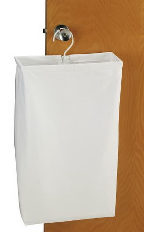 Hanging Cotton Canvas Laundry Hamper Bag