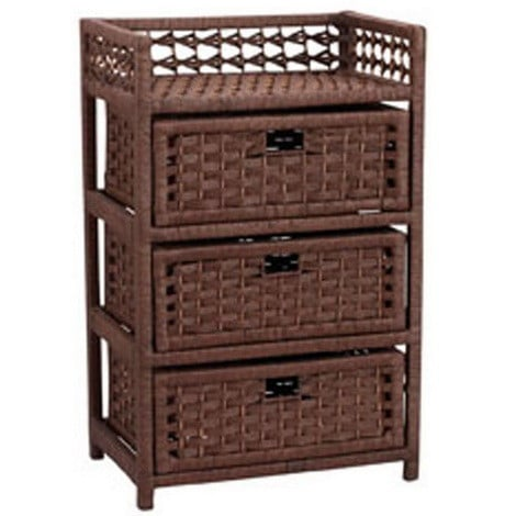 Household Essentials Chest with 3 Drawers