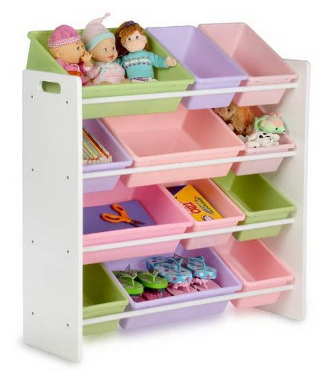 51 bedroom storage and organization ideas ways to for Kids room toy storage