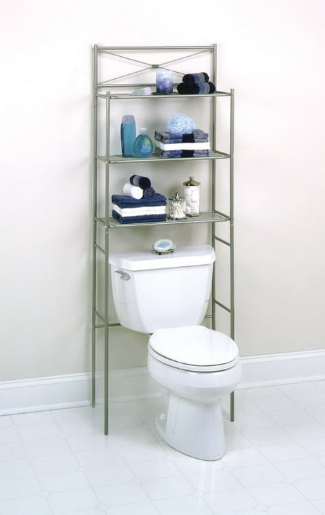 Metal Space saver 3 Shelf Bathroom organizer