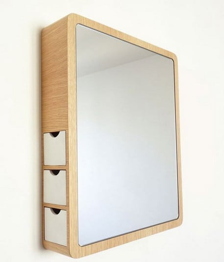 53 Simply Cool Products Innovative Useful Inventions : Mirror with drawers from removeandreplace.com size 457 x 535 jpeg 16kB