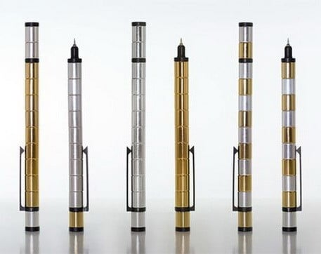 Modular Pen Made of Powerful Neodymium Magnets
