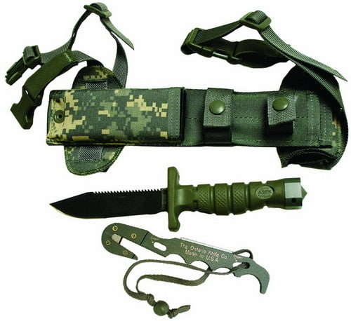 Ontario ASEK Aircrew Survival Egress Knife