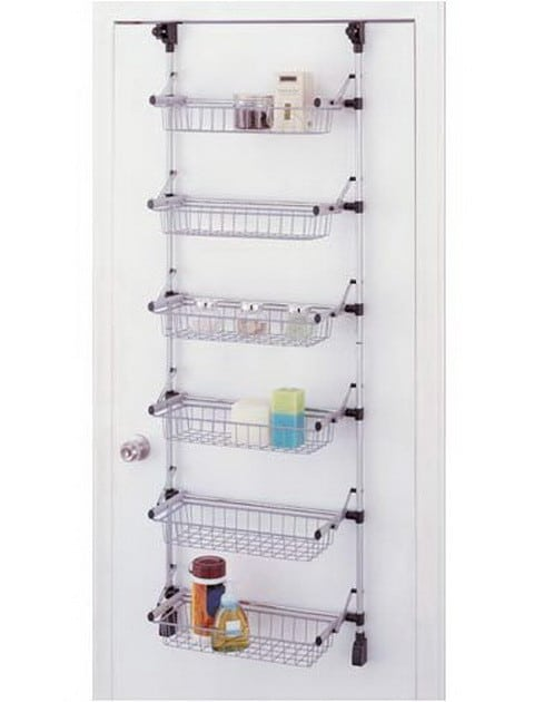 Organize It All Basic Overdoor 6-Basket Unit