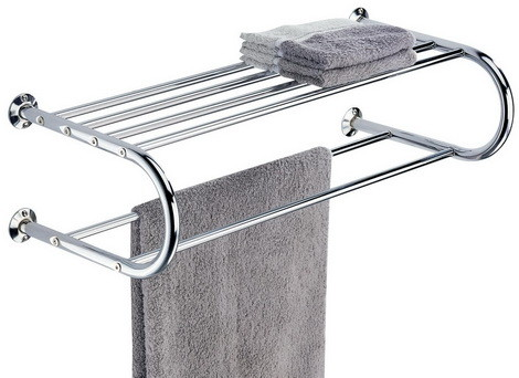 Organize It All Shelf with Towel Rack
