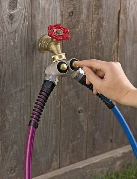 Push-Button Tap Hose Adapter