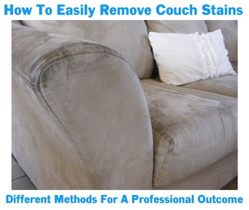 Remove Sofa Stains