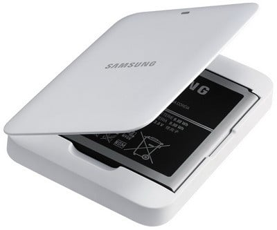 Samsung Galaxy S4 Spare Battery Charger (2600mAh Battery Included)