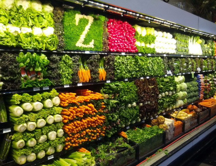 Supermarket Produce Section