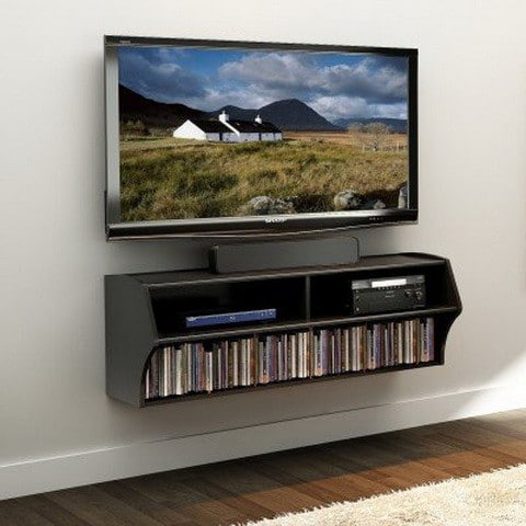 Wall Mounted Audio Video Console